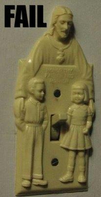 Lichtschalter im Vatikan