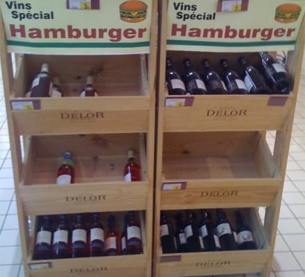 Der Wein zum Burger.
